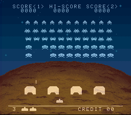 Space Invaders - SNES