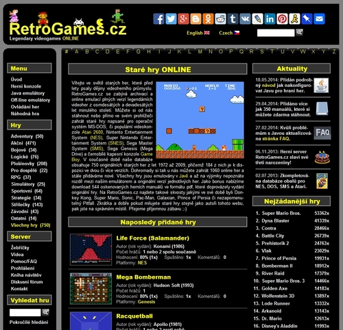 Retrogames Cz Play Old Games Online
